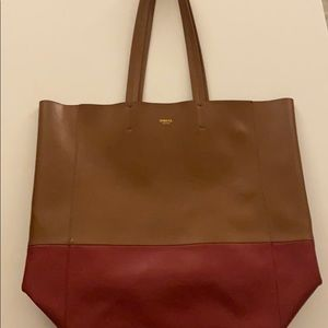 Like New Sorial Pleather Tote GORGEOUS!  $138